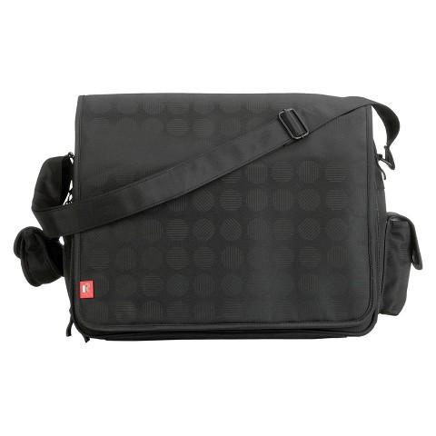 RYCO Stella Messenger Diaper Bag - Black