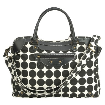 RYCO Sienna Diaper Bag - Black Dots