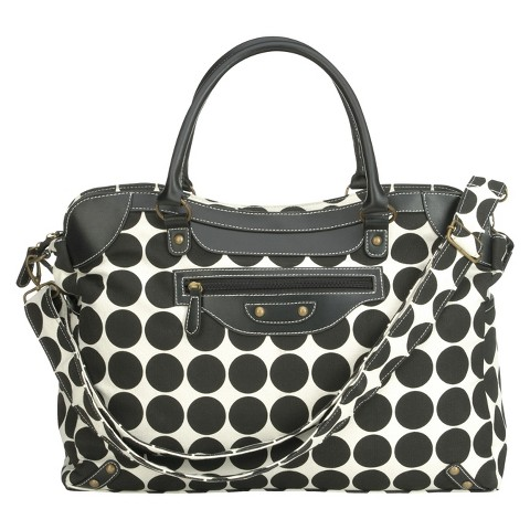 ryco sienna diaper bag black dots target. Black Bedroom Furniture Sets. Home Design Ideas