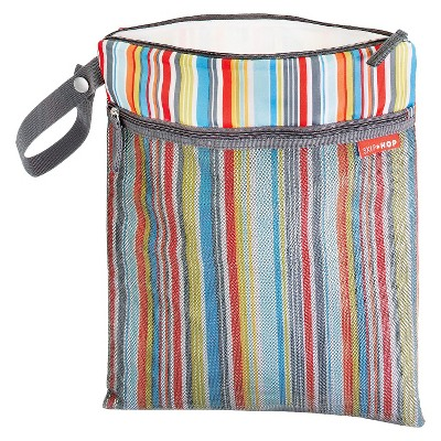 Skip Hop Grab and Go Wet/Dry Bag - Metro Stripe