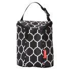 Skip Hop Grab and Go Double Bottle Bag - Onyx Tile