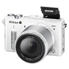 Nikon 1 AW1 14.2 MP HD Digital Camera System with AW 11-27.5mm f/3.5-5.6 1 Nikkor Lens - White