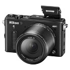 Nikon 1 AW1 14.2 MP HD Digital Camera System with AW 11-27.5mm f/3.5-5.6 1 Nikkor Lens - Black