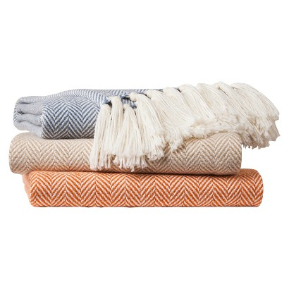 Threshold™ Herringbone Throw