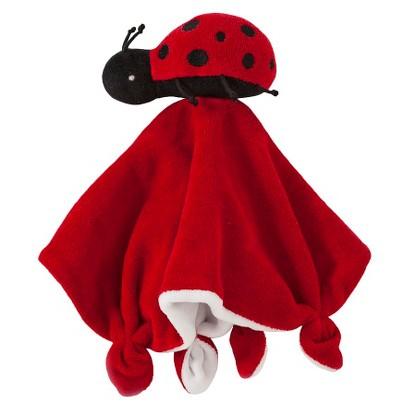 Burt's Bees Baby ™ Velour Lovey Toy - Ladybug