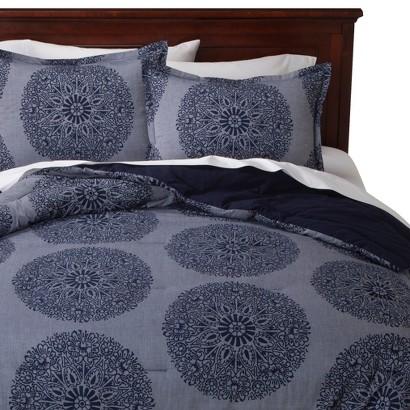 Threshold™ Chambray Medallion Comforter Set