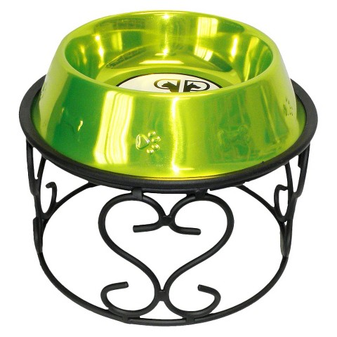 Platinum Pets Wrought Iron Scroll Single Feeder
