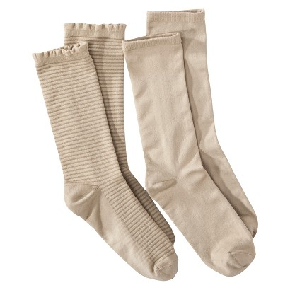 Women's Crew Socks 2-Pack - Merona®