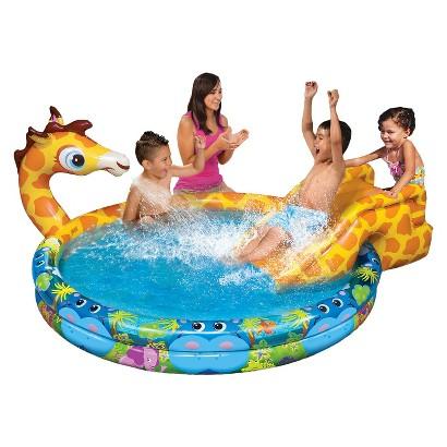 Banzai Spray N' Splash Pool - Giraffe