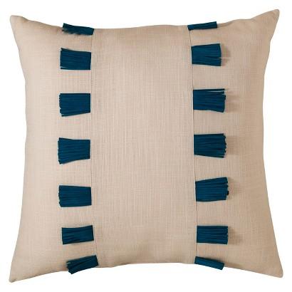 Nate Berkus™ Leather Fringe Pillow