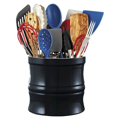 Ecom Chefs Ceramic 3 Number Of Pieces In Set Utensil Storage Rack