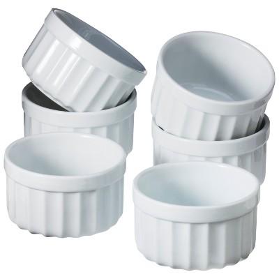 Ecom Ramekin Set Chefs Porcelain