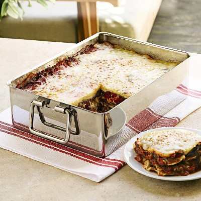 Ecom Open Baking Dish Chefs Stainless Steel