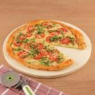 CHEFS Round Pizza Stone, 16.5 inch