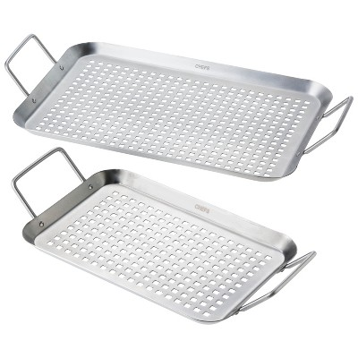 Ecom Grill Cookware Chefs Silver