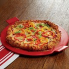 """CHEFS Flameproof Pizza Stone, 16"""""""