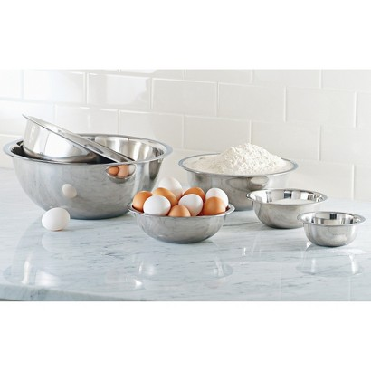 CHEFS Stainless-Steel Mixing Bowls