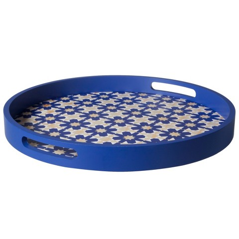 Threshold™ Geometric Latticed Trays