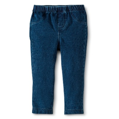 Cherokee® Newborn Girls' Legging - Indigo NB