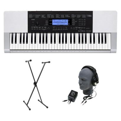 Casio CTK4200 61 Key Portable Keyboard Premium Package