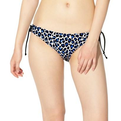 Xhilaration® Junior's Side Tie Swim Bottom -Leopard Print