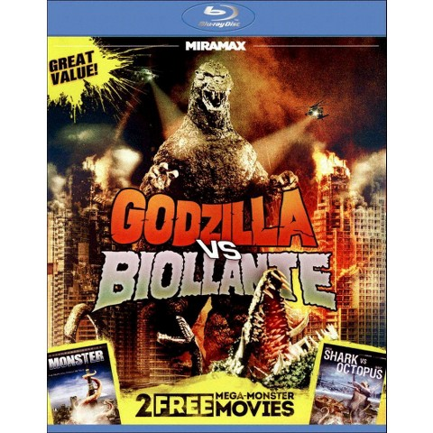 3 Mega-Monster Movies (Blu-ray) (Widescreen)
