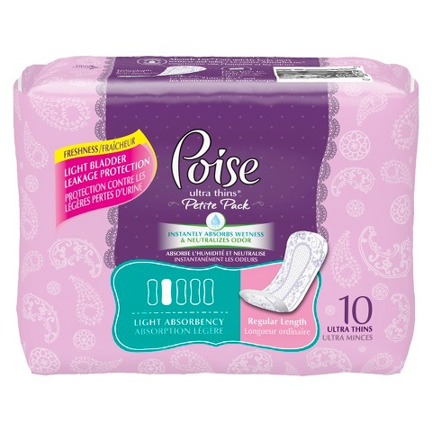 Poise® Ultra Thins - Regular Length (120 Count)