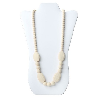 Nixi by Bumkins Ellisse Teething Necklace - Navajo White
