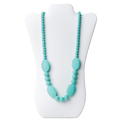 Nixi by Bumkins Ellisse Teething Necklace - Turquoise