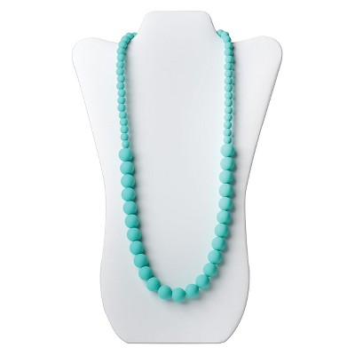 Nixi by Bumkins Ciclo Teething Necklace - Turquoise
