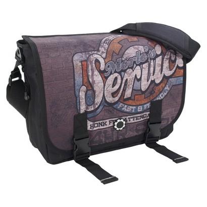 DadGear Messenger Diaper Bag - Merles