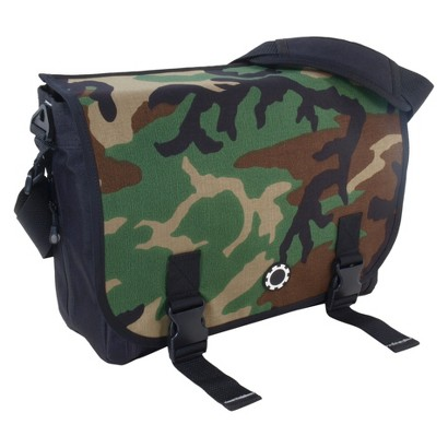 DadGear Messenger Diaper Bag - Camouflage