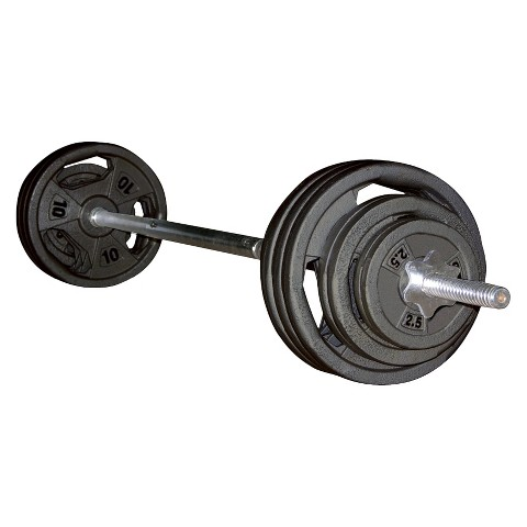 Marcy Standard 100 lb. Weight Set with Grip Plates (ECO100)