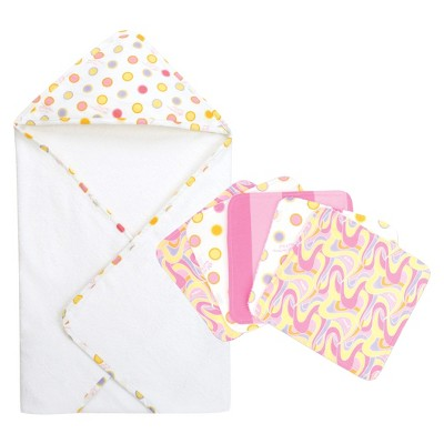 Hooded Bath Towels Trend Lab Multi-colored