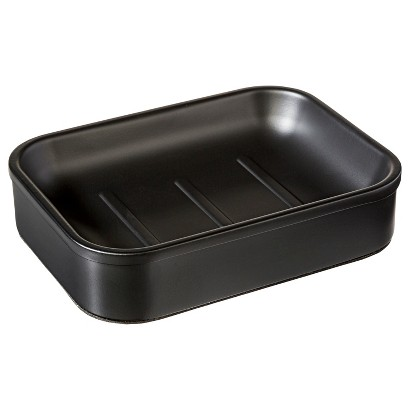 Threshold™ Milk Bottle Soap Dish - Black