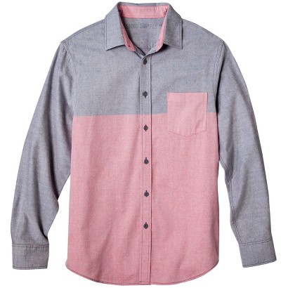 Mossimo Supply Co. Men's Colorblock Oxford Shirt