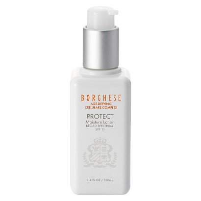 Borghese Age-Defying Cellulare Complex Protect Moisture Lotion Broad Spectrum SPF 15 - 3.4 oz
