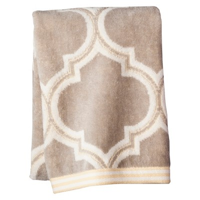 Hand Towel Fretwork Gray - Threshold™