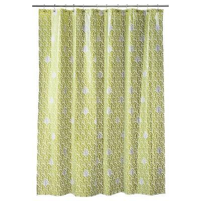Leaf Shower Curtain - Green - Room Essentials™