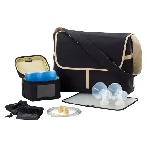Medela Breast Pump Messenger Bag with Accessory Kit for Pump In Style