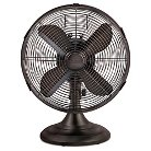Holmes® Metal Table Fan, Bronze (HDF1206-BTU)