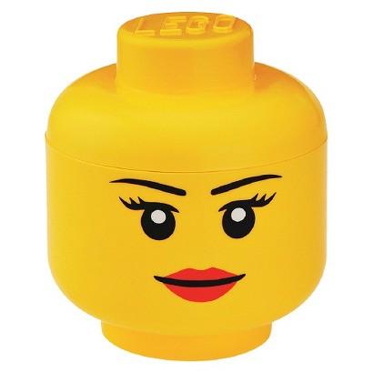 LEGO Large Storage Girl Head