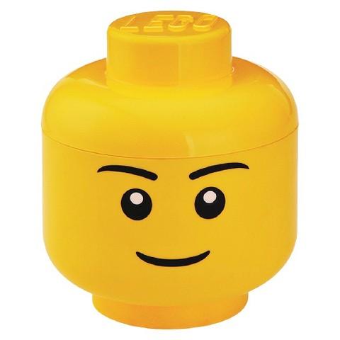 LEGO Large Storage Boy Head