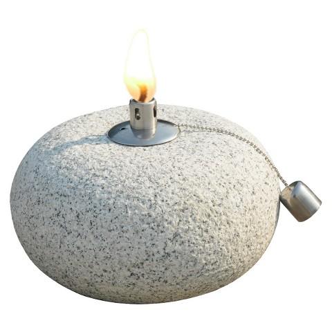 leisurelife™ Solid Granite Oil Lamp