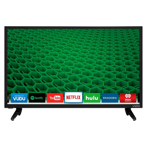 "VIZIO D-series 32"" Class Full Array LED Smart TV- Black (D32h-D1)"