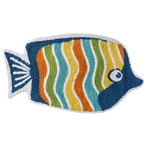 circo fish bath rug 20x34 target On fish bathroom rug