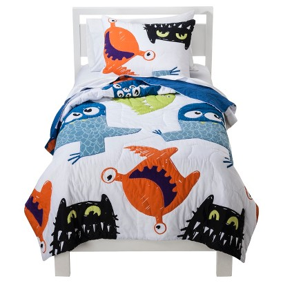 Circo Monster Party Quilt Set