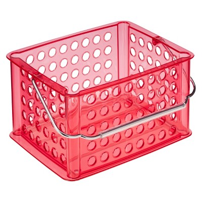 Utility Storage Bin with Handle Coral Small Room Essentials™