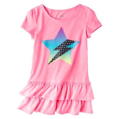 Circo® Girls' Short-Sleeve Graphic Tunics  -