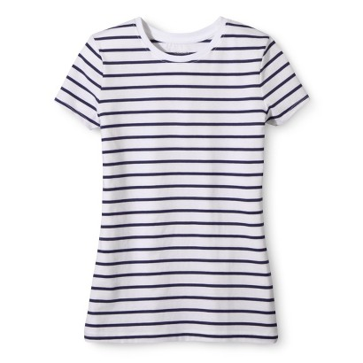 Girls' Striped Ultimate Tee